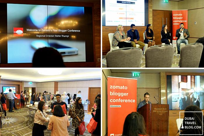 Zomato BloZomato Blog Conference UAEg Conference UAE
