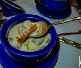Thai Food Dinner at Blue Elephant Restaurant in Al Bustan Rotana