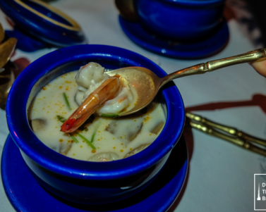 Thai Food Dinner at Blue Elephant Restaurant in Al Bustan Rotana