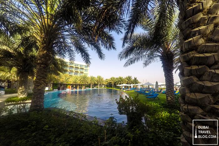 family pool rixos the palm resort