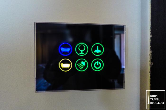 lights switch rixos the palm resort