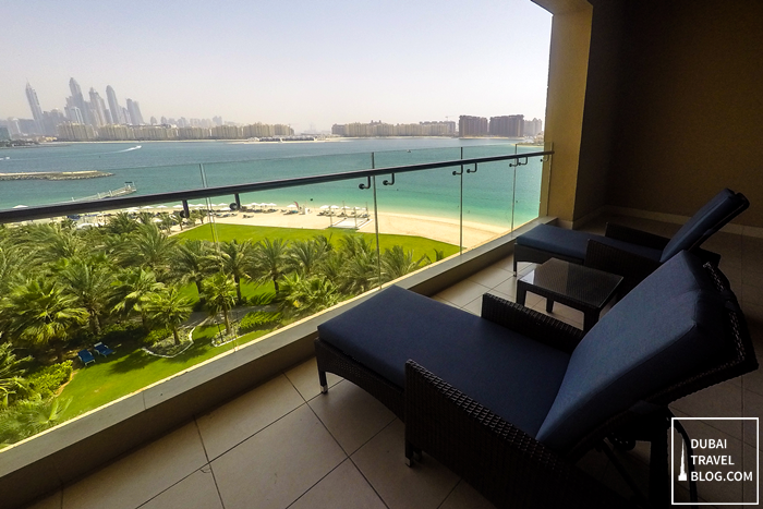 rixos the palm hotel resort balcony