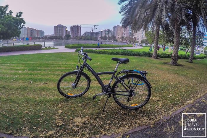 Al Nahda Pond Park bike