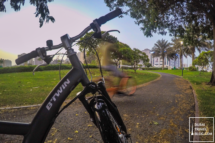 Cycling in Al Nahda Pond Park