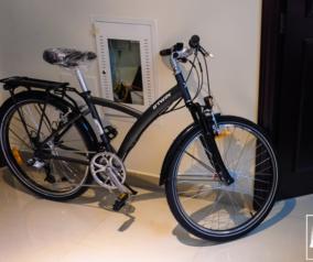 Bought a B'Twin Original 520 Hybrid Bike from Decathlon