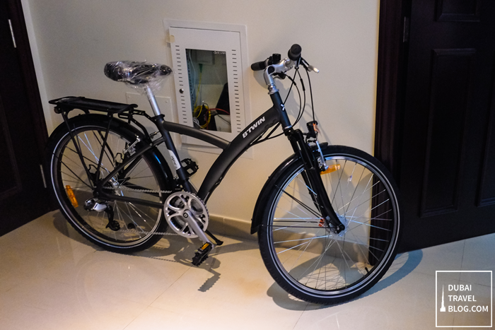 btwin hybrid bike original 520