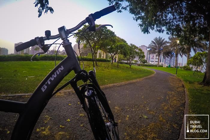 cycling al nahda pond park