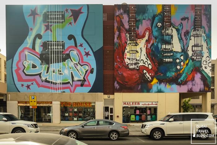 dubai graffiti karama