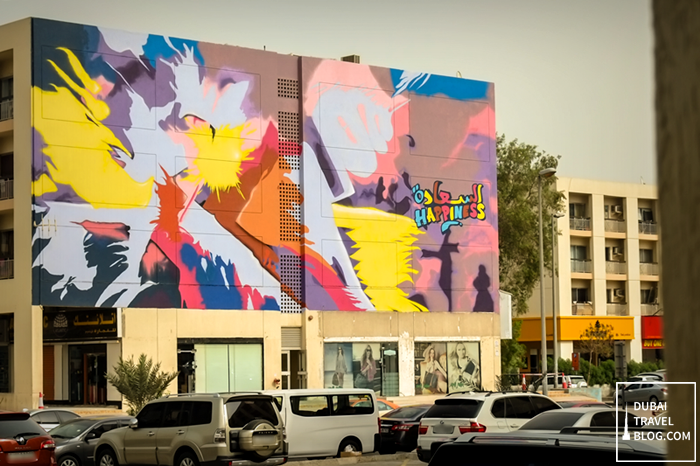 graffiti dubai karama