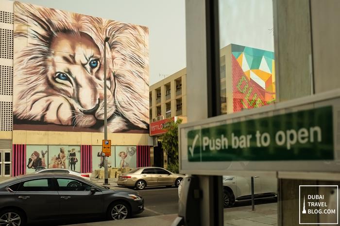 lion painting karama