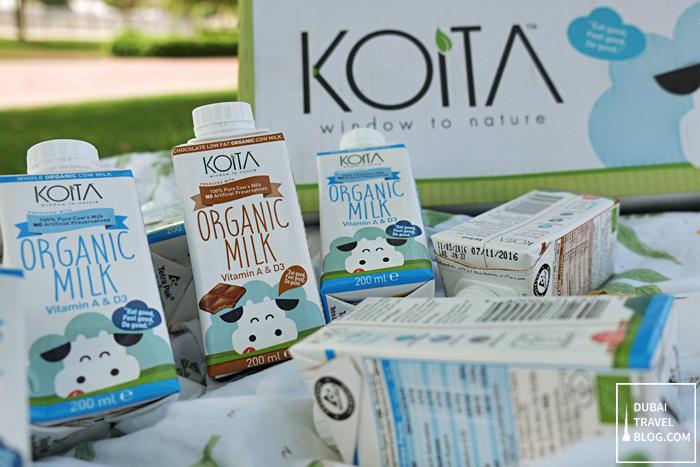 organic milk in dubai koita