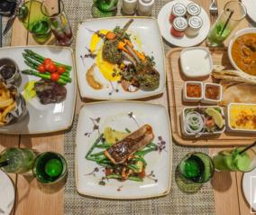 Dinner at The Garden Grille in Hilton Garden Inn MOE