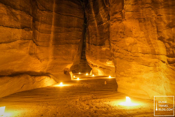 Petra adventure at night trip