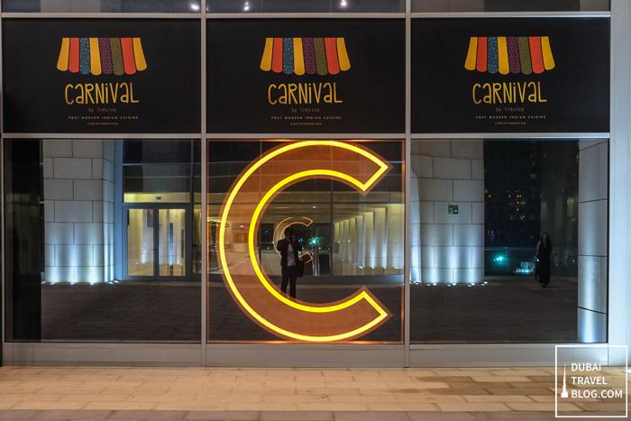 carnival by tresind restaurant Burj Daman