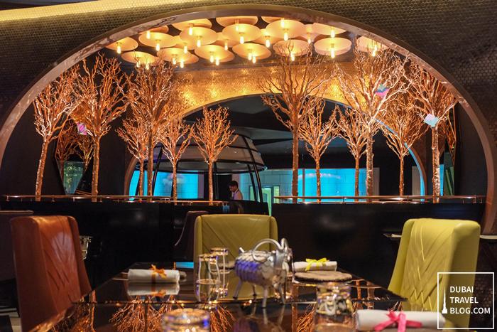 dubai restaurant - carnival by tresind - burj daman