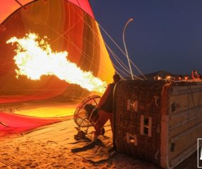 25 Photos of our Hot Air Balloon Adventure Over the Dubai Desert