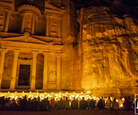 Petra by Night Tour Experience in Jordan