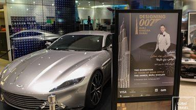 Designing 007: James Bond Exhibit in Burj Khalifa