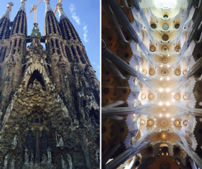 Visiting La Sagrada Familia in Barcelona, Spain