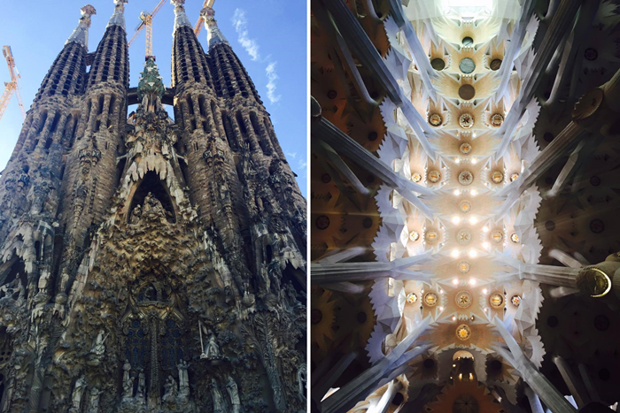 sagrada la familia spain photo