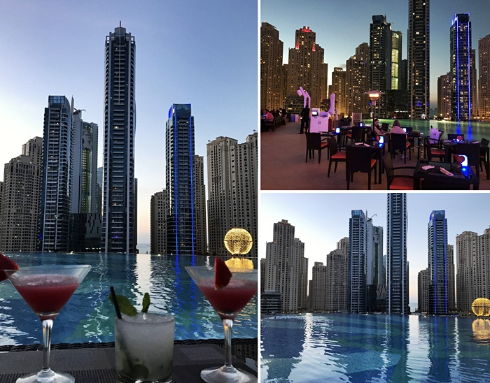 5 best rooftop bars in dubai dubai travel blog The address dubai marina swimming pool