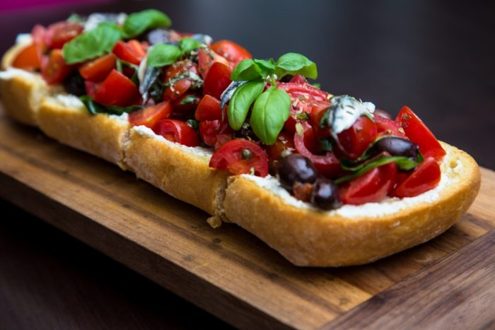 Meter Bruschetta at Merletto