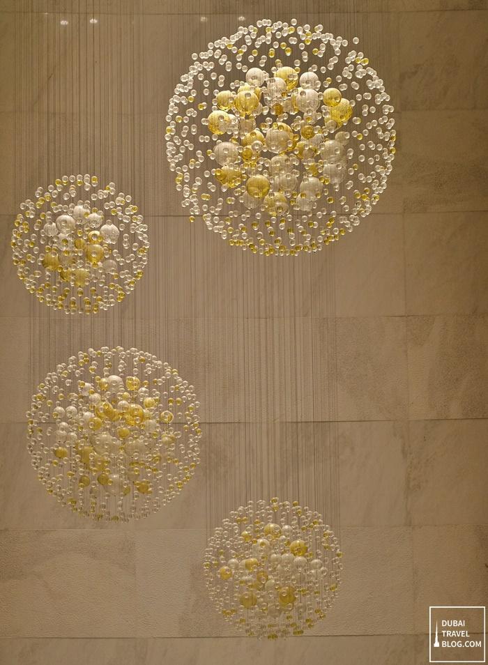 light decoration marriott hotel al jaddaf