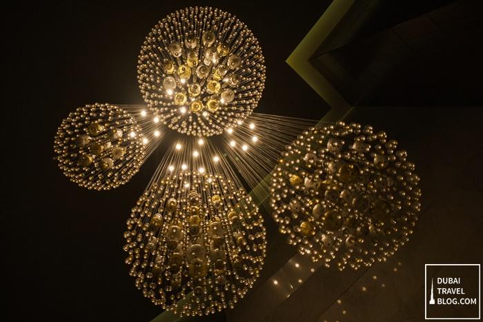 marriott al jaddaf light decor