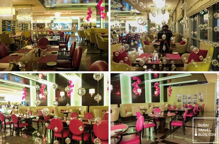 merletto restaurant al jaddaff marriott