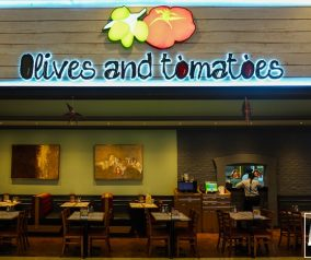 Olives and Tomatoes Restaurant in Dragon Mart 2
