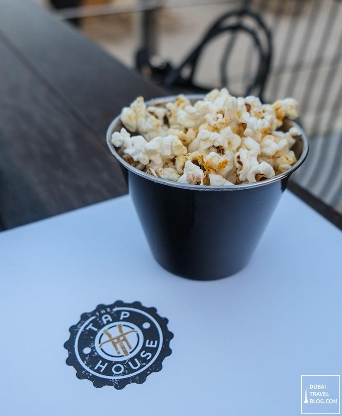 tap house dubai popcorn