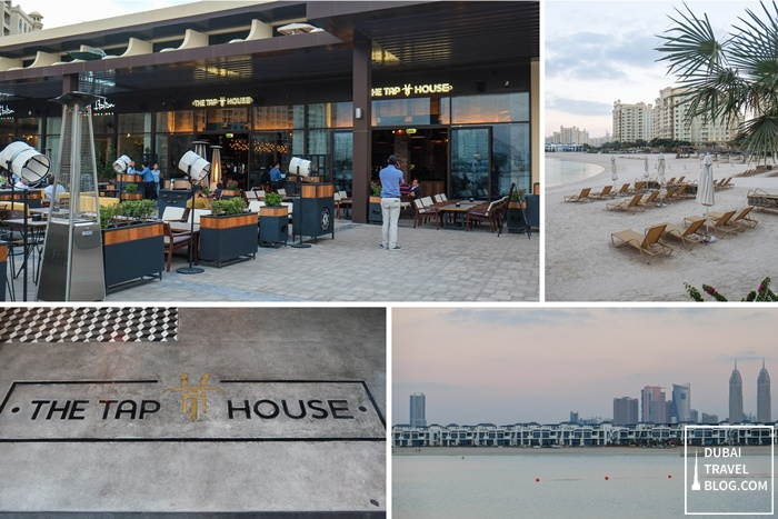 the tap house palm jumeirah dubai