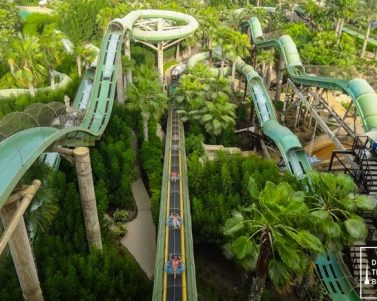 Fun Water Adventure at Aquaventure Waterpark in Atlantis, The Palm Dubai