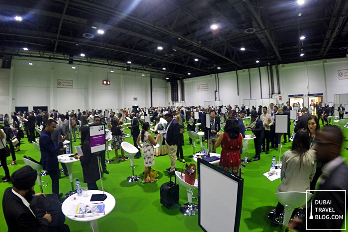 Arabian Travel Market Bloggers Speed Networking Session