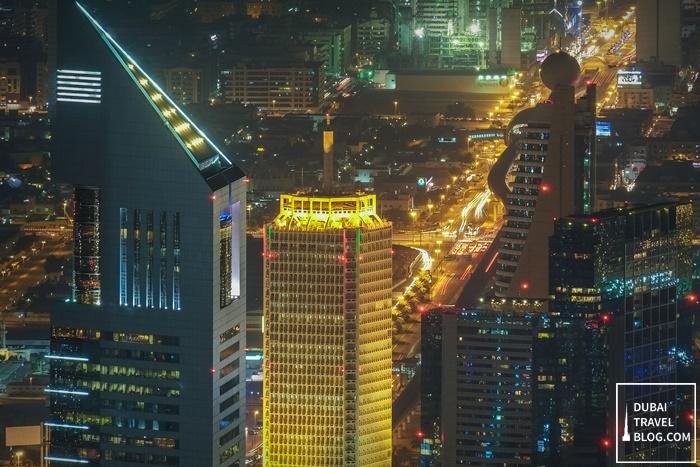 at the top burj khalifa night experience