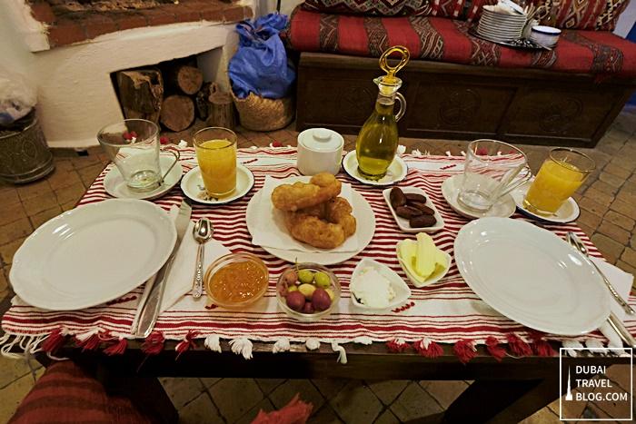 casa perleta breakfast morocco
