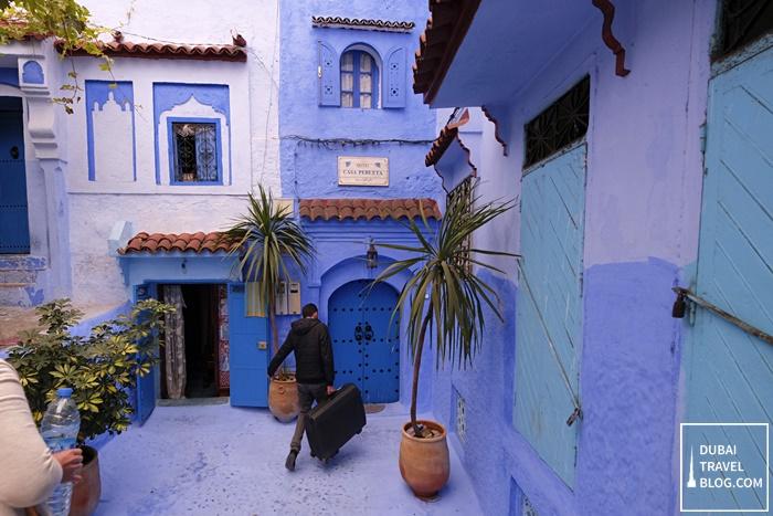 casa perleta chefchaouen morocco