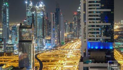 Dining with a View of Dubai's Skyline at Level 43 Sky Lounge