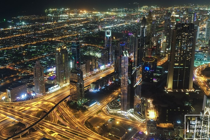 dubai night view