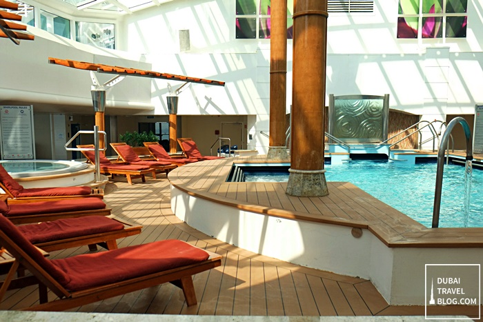 indoor pool celebrity cruises