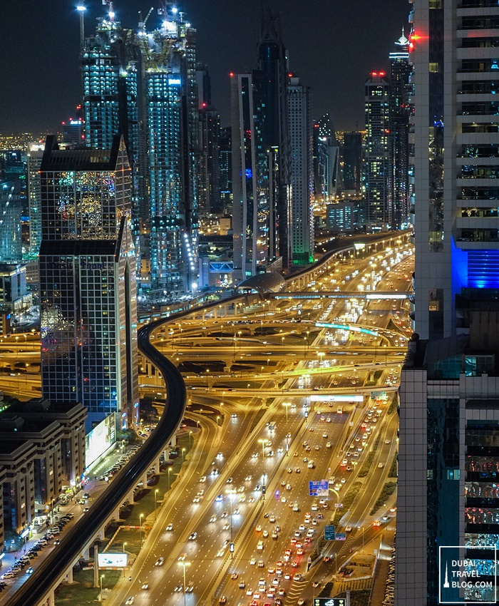 sheikh zayed road highway dubai