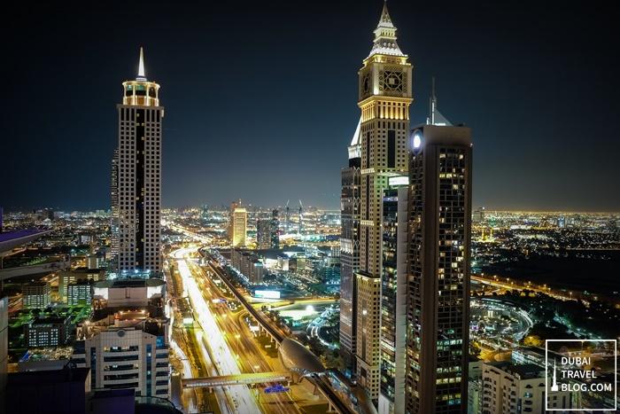 sheikh zayed road highway dubai