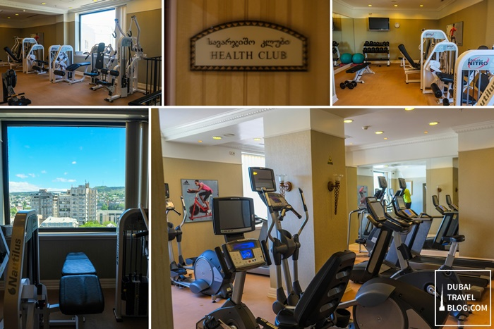 health club gym tbilisi marriott