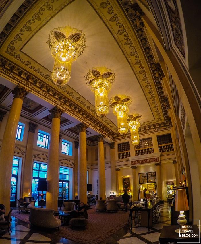 marriott tbilisi hotel lobby