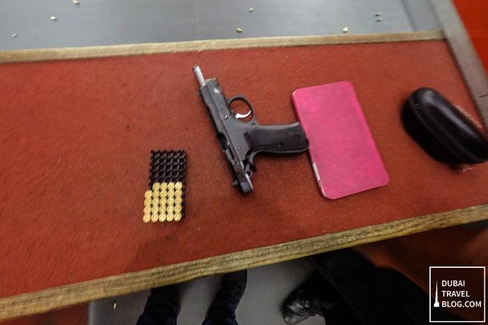 sharjah golf and shooting club pistol