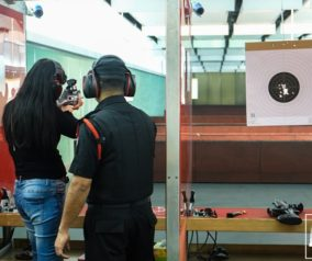 Pistol and Rifle Shooting Range at Sharjah Golf and Shooting Club