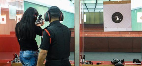 Pistol and Rifle Shooting Range at Sharjah Golf and Shooting Club