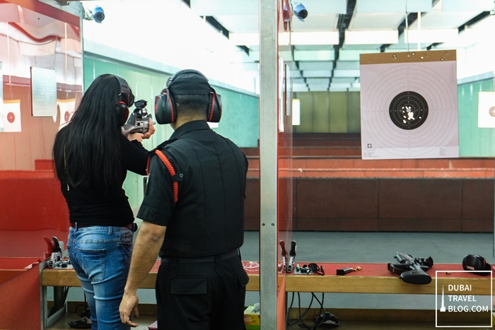 sharjah gun shooting practice