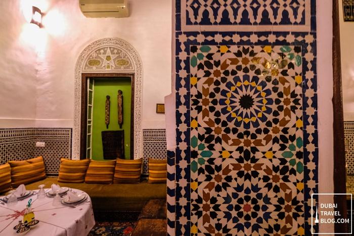 moroccan tiles riad tafilalet