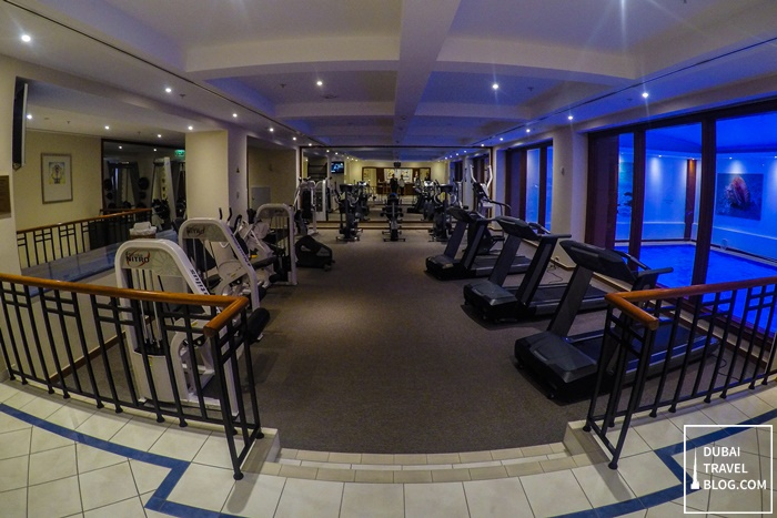 gym courtyard by marriott tbilisi georgia
